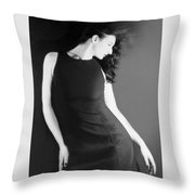 The Freeze - Self Portrait Throw Pillow