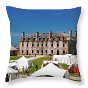 The French Castle 6709 Throw Pillow