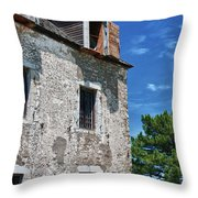 The French Castle 6947 Throw Pillow
