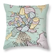 The French Invasion Throw Pillow
