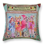 The Friends - Oh Christmas Tree Throw Pillow