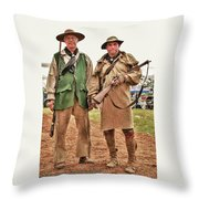 The Frontiersmen Throw Pillow