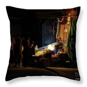 The Fruit Deal Throw Pillow by Michael Garyet
