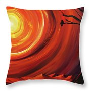 The Fruit Of Persistence Throw Pillow