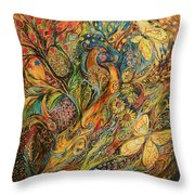 The Fruits Of Holy Land Throw Pillow