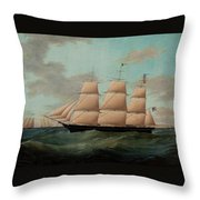 The Fullrigger The American Throw Pillow