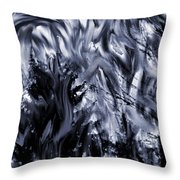 The Furious Beauty Of Nature Throw Pillow