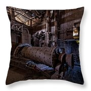 The Furnace And The Rocket 2  La Fornace E Il Razzo 2 Throw Pillow