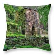 The Furnace Throw Pillow