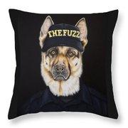 The Fuzz Throw Pillow
