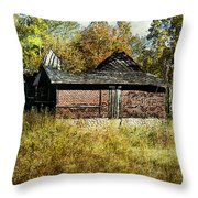 The Gallery Is Closed Throw Pillow