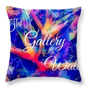 The Gallery Wall Throw Pillow