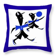 The Game 2 Throw Pillow