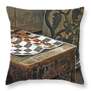 The Game Never Stops Throw Pillow