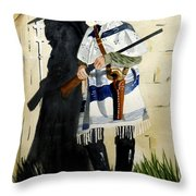 The Garde Throw Pillow