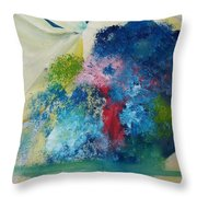The Garden Throw Pillow by Gregory Dallum