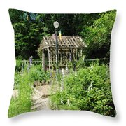 The Garden Throw Pillow