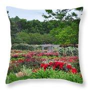 The Garden Of Bloom Throw Pillow