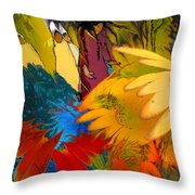 The Garden Of Sins Throw Pillow