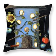 The Gardener Throw Pillow by Leah Saulnier The Painting Maniac
