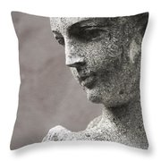 The Gardens Close Up Throw Pillow