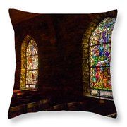The Garrett Windows Throw Pillow