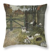 The Gate. From A Home Throw Pillow