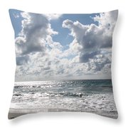 The Gate Way To Heaven Throw Pillow