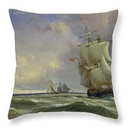 The Gathering Storm Throw Pillow