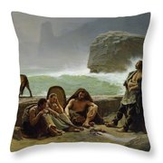 The Gaulish Coastguards Throw Pillow