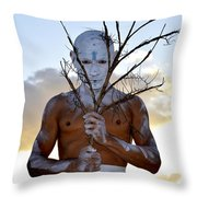 The Gaze Throw Pillow