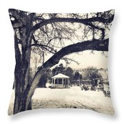 The Gazebo Throw Pillow