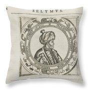 The General Historie Of The Turkes Throw Pillow