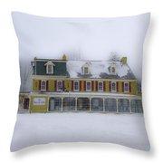 The General Lafayette Inn - Barren Hill Brewery Throw Pillow