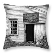 The General Store Bw Throw Pillow