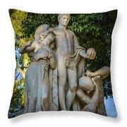 The Genius Maria Luisa Park Seville Spain Throw Pillow