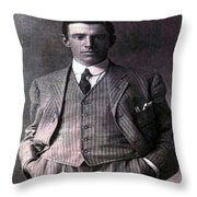 The Gent Throw Pillow
