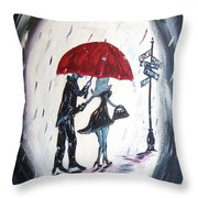 The Gentleman Throw Pillow