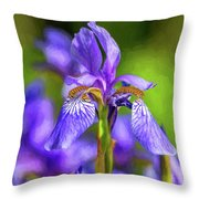The Gentleness Of Spring 4 - Paint Throw Pillow
