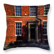 The Georgian Terraces At Riversdale Place 2 Throw Pillow