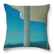 The Getty Panel 2 Of Triptyck Throw Pillow