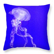 The Ghost Nettle Throw Pillow