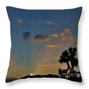 The Gift Of A New Day Throw Pillow