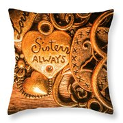 The Gift Of A Sister Throw Pillow