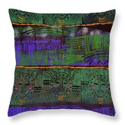 The Gift Of Strength Throw Pillow