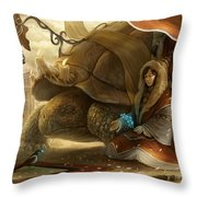 The Gift Of The Sages Throw Pillow