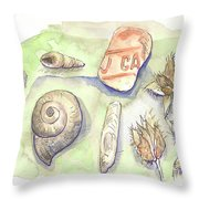 The Gifts Of The Mountain River Throw Pillow