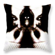 The Giggler Throw Pillow