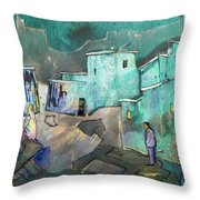 The Girl Of His Dreams Throw Pillow