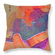 The Girl With A Dream Throw Pillow